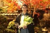 幕末の偉人・久坂玄瑞と真正面から向き合った東出。撮了に感無量(C)NHK