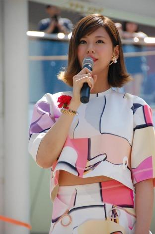 3枚目のシングル「ありがとうForever...」リリースイベントを開催した西内まりや (C)ORICON NewS inc.