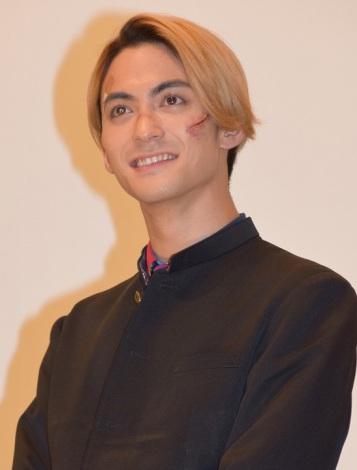 映画『ズタボロ』完成披露上映会で舞台あいさつを行った永瀬匡 (C)ORICON NewS inc.