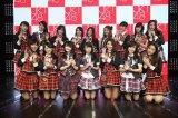 JKT48の10thシングル(5月末発売予定)のカップリング曲を歌うアンダーガールズ(C)JKT48project