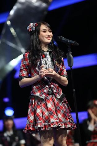 昨年女王のメロディー・ヌランダニ・ラクサニは3位(C)JKT48project
