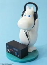 ヘッドホンでラジオを聞く愛らしいムーミンを立体化!【A賞】ムーミン レジン製フィギュア 全1種