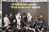 "『J-WAVE presents""STAR WARS DAY""TOKYO@Roppongi Hills』イベントの模様"
