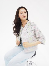 「dTV」で配信中のオリジナルドラマ『眠れぬ真珠』に主演する黒谷友香(C)BeeTV