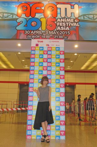 タイ初開催のAFAに参加したMay'n