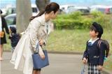 息子・良雄(高橋來)の小学校お受験問題で、妻の恵(上戸彩)と議論に…(C)テレビ朝日