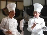 芸人・坪倉由幸(左)&大熊ひろたか(右)がドラマ『天皇の料理番』で本気演技(C)TBS