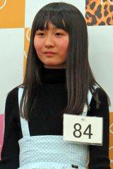 『AKB48グループ 第2回ドラフト会議』に進出する山邊歩夢さん(14)。姉はアイドルグループ・東京女子流の山邊未夢 (C)ORICON NewS inc.