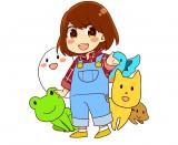 花澤香菜がキャラクター原案を手がけた『かな〜でぃあんファミリーズ』がオリジナル3Dアニメになって動き出す(C)2015 KANA hanazawa