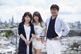 木崎ゆりあ(AKB48)と父・幸一郎さん、母・栄里子さん