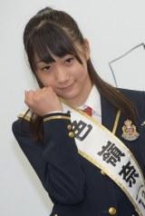 『第2回AKB48グループドラフト会議』2巡目で3チームから指名された一色嶺奈さん (C)ORICON NewS inc.