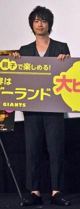 映画『小さな世界のワンダーランド』初日舞台あいさつに出席した斎藤工 (C)ORICON NewS inc.