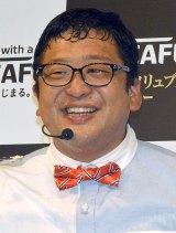 """""""幸せ太り""""を報告したチャンカワイ=『NESCAFE Smart Lifeトークショー』(C)ORICON NewS inc."""