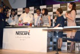 『NESCAFE Smart Lifeトークショー』の模様(C)ORICON NewS inc.
