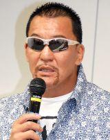 """後見人として協力する""""闘魂三銃士""""の盟友・蝶野正洋(C)ORICON NewS inc."""