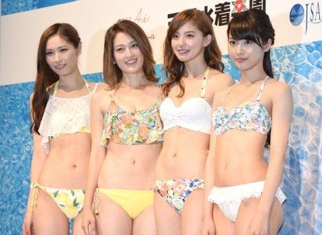 サムネイル (左から)横町ももこ、宮沢セイラ、朝比奈彩、山下永夏 (C)ORICON NewS inc.