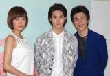 (左から)夏菜、白石隼也、中尾明慶 (C)ORICON NewS inc.