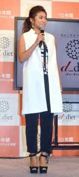 『dダイエット』記者発表会に出席した今井華 (C)ORICON NewS inc.