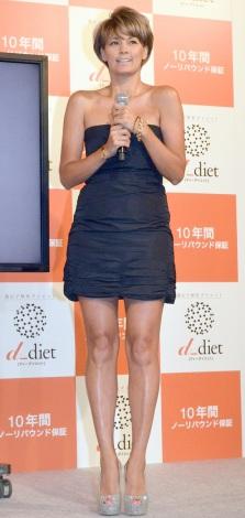 『dダイエット』記者発表会に出席した梅宮アンナ (C)ORICON NewS inc.
