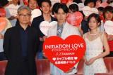 (左から)堤幸彦監督、松田翔太、前田敦子 (C)ORICON NewS inc.