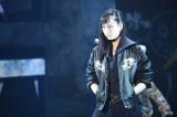舞台『マジすか学園 〜京都・血風修学旅行〜』ゲネプロに出演した松井玲奈