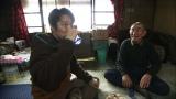 礼文島のとある集落で一人暮らしを続ける漁師の浜下福蔵さんと酒を酌み交わし…(C)HBC