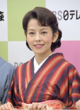 『台所太平記』の制作発表会見に出席した沢口靖子 (C)ORICON NewS inc.