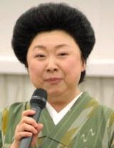 『台所太平記』の制作発表会見に出席した竹内郁子(C)ORICON NewS inc.