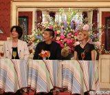 (左から)綾野剛、伊勢谷友介、山田優=『SMAP×SMAP』18日放送分より