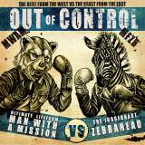 MAN WITH A MISSIONとゼブラヘッドのスプリット盤『Out of Control』(20日発売)通常盤