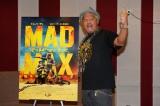 映画『マッドマックス 怒りのデス・ロード』吹替えアフレコイベントに出席した真壁刀義(C)2015 VILLAGE ROADSHOW FILMS (BVI) LIMITED