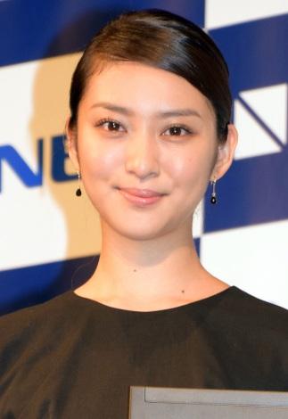 サムネイル 恋愛質問に「秘密です」と笑顔で語った武井咲(C)ORICON NewS inc.