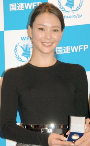 サムネイル 日本初のWFP国連世界食糧計画の大使に就任した知花くらら (C)ORICON NewS inc.