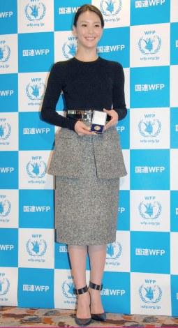 日本初のWFP国連世界食糧計画の大使に就任した知花くらら (C)ORICON NewS inc.