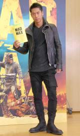 映画『マッドマックス 怒りのデス・ロード』の吹き替えアフレコイベントに出席したAKIRA (C)ORICON NewS inc.