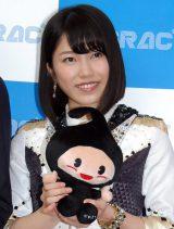 『2015年JASRAC賞』贈呈式に駆けつけたAKB48横山由依(C)ORICON NewS inc.