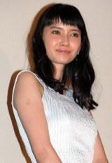 映画『トイレのピエタ』の舞台あいさつに出席した市川紗椰 (C)ORICON NewS inc.