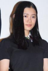 映画『トイレのピエタ』の舞台あいさつに出席した杉咲花 (C)ORICON NewS inc.