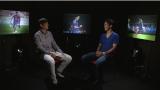 中田浩二氏は現役引退後、初めて話しを聞き出すインタビュアーに挑戦(C)テレビ朝日