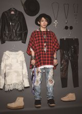 ファッションのこだわりを大公開したEXILE NAOTO 『smart』7月号(宝島社)