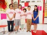 日本テレビ系深夜番組『妄soul!!』に出演する(左から)地主恵亮、ふかわりょう、黒沢かずこ、関根勤、浅田舞(C)日本テレビ