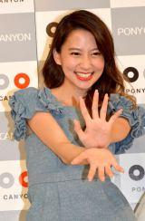 オスカープロモーションの先輩・河北麻友子が応援に駆けつけた (C)ORICON NewS inc.