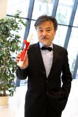 「日本に帰ってから、深津絵里さん、浅野忠信さんと『カンヌ楽しかったね』と盛り上がりたい」と黒沢清監督(C)Kazuko Wakayama