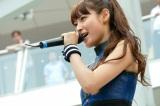 2ndシングル「KNOCKED-OUT BOY」発売記念イベントを行ったLAGOON(写真はボーカルのMIORIこと瀧本美織)