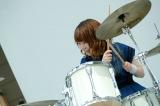 2ndシングル「KNOCKED-OUT BOY」発売記念イベントを行ったLAGOON(写真はyuri)