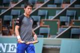 5月24日に始まるテニスの『全仏オープン』に出場する錦織圭(写真:アフロ)