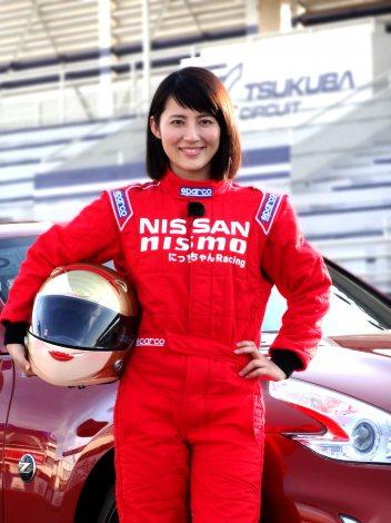 茨城・つくばサーキットでレーサーデビューした福田彩乃