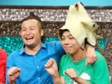 タウンワーク『ピタッとおしごとメール presents よしもとお笑いスペシャルLIVE』に出席したバンビーノの(左から)石山大輔、藤田裕樹 (C)ORICON NewS inc.