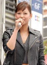 映画『ターミネーター:新起動/ジェニシス』ターミネーターの日記念イベントに出席した西内まりや (C)ORICON NewS inc.