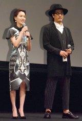 (左から)戸田恵梨香、橋本さとし (C)ORICON NewS inc.
